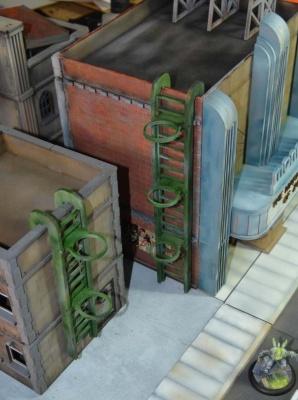 Rooftop ladders (4)