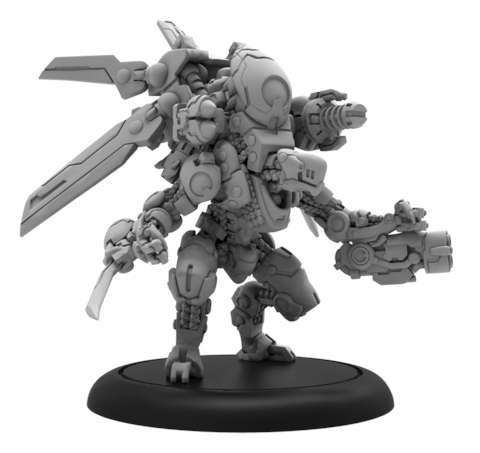 Nemesis A - Warcaster Aeternus Continuum Heavy Warjack