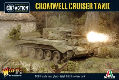 Cromwell Cruiser tank plastic box set (plastic) (1)