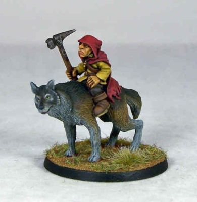 Goblin Wolfrider Champion (1)