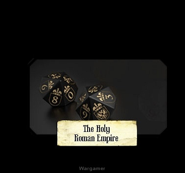 Set of Holy Roman Empire Dice (10)