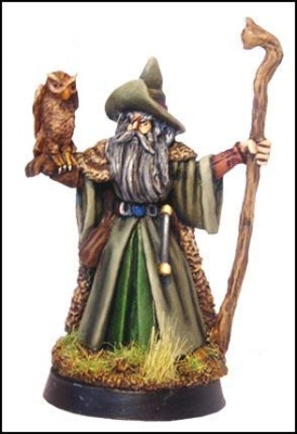 Amathor, Wizard w/Owl