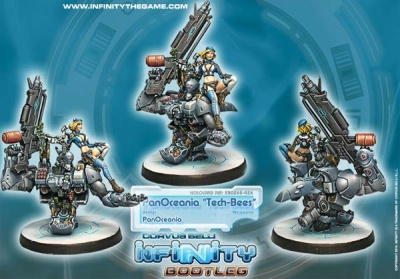 Infinity Bootleg! Tech-Bees, Maintenance Battalions (PO)
