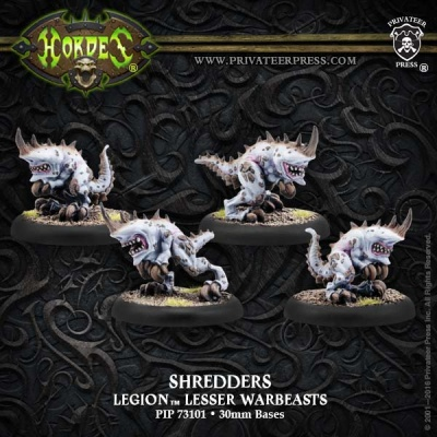 Legion Shredder Lesser Warbeasts (plastic)