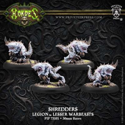 Legion Shredder Lesser Warbeasts (plastic)