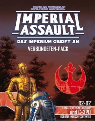 Star Wars: Imperial Assault - R2-D2 und C-3PO DEUTSCH