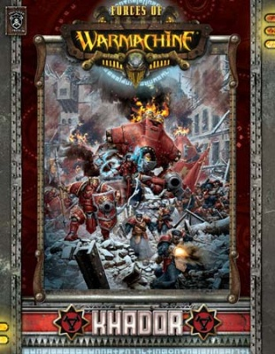 Forces of WARMACHINE: Khador deutsch (HC)