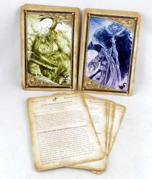 WHFANTASY: Magiekarten Dämonen 8. Edition