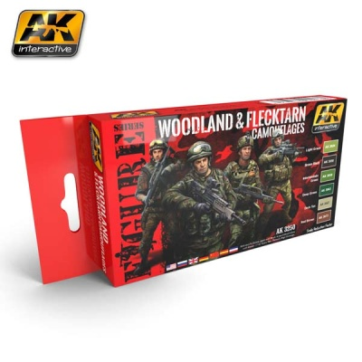 Woodland and Flecktarn Camouflages