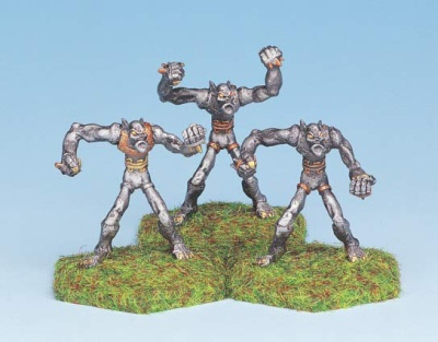 Dark Elf Golem Warriors (3)