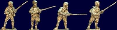 Soviet Riflemen with Rifles II (4)