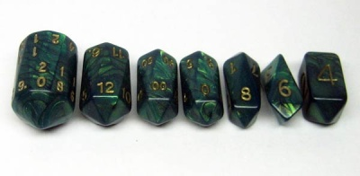 Crystal Caste Interference: Green (7)