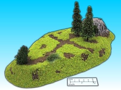 Geländestück Langer Hügel