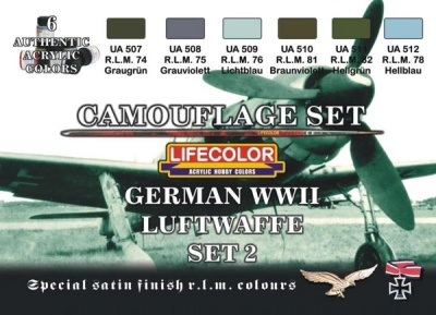German Luftwaffe Set II WWII