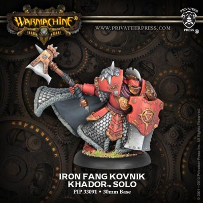 Khador Iron Fang Kovnik