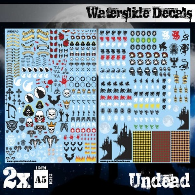 Waterslide Decals - Undead Army