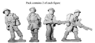 British 8th Army Bren Teams (8)