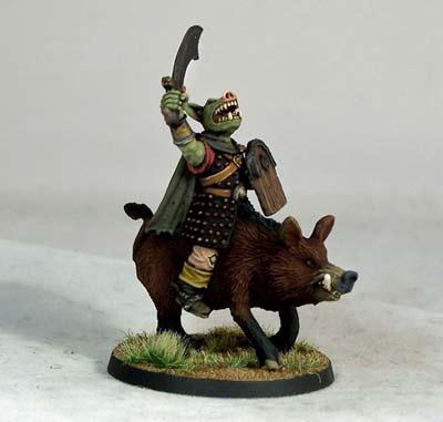 Pig-faced Orc Boar-rider III