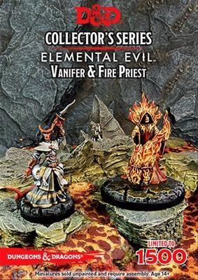 D&D: Elemental Evil: Vanifer, & Fire Priest