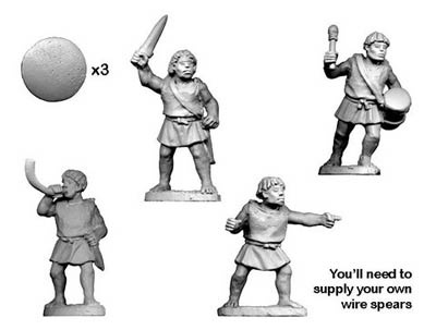 Numidian Warrior Command (4)