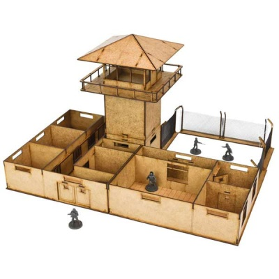 The Prison MDF Scenery Set