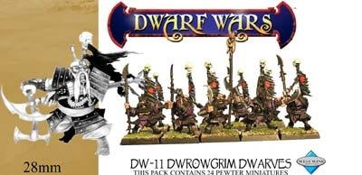 Drowgrim Dwarf Infantry (10)
