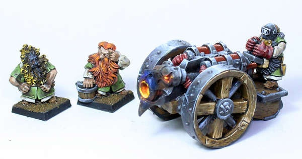 Flamethrower cannon
