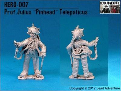 """Prof. Julius """"Pinhead"""" Telepaticus (1)"""