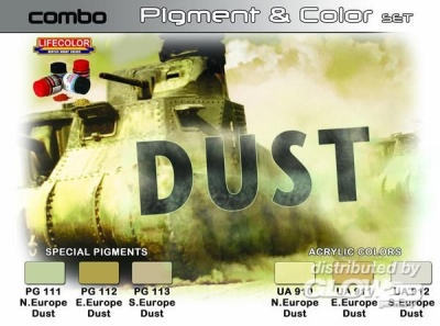 Weathering Combi Set: Dust