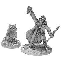 Bandit Raccoon Shaman & Totem (2)