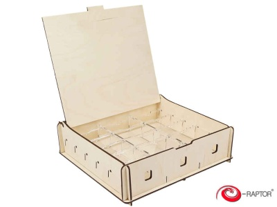 Board Game Storage Boxes: Universal Box Medium (Wooden)