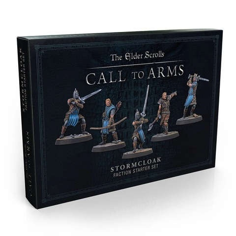 The Elder Scrolls Stormcloak Resin Faction Starter Set