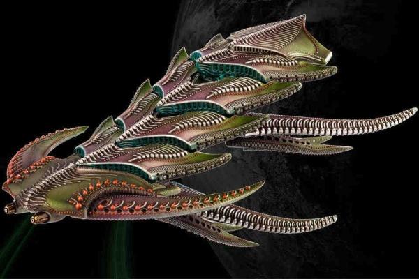 Scourge Daemon/Dragon Battleship