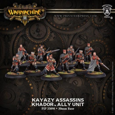 Khador Allies Kayazy Assassins Unit (10)