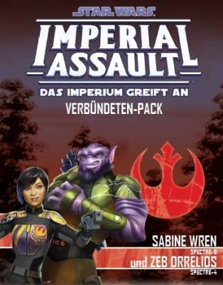 SW: Imperial Assault Sabine Wren und Zeb Orrelios