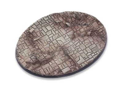 Stonefloor Bases - 120mm Oval (1)