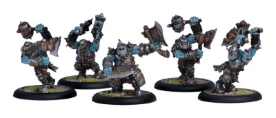 Trollblood Trollkin Champions Unit Box (OOP)