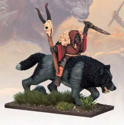 Goblin Wolf Rider Shaman