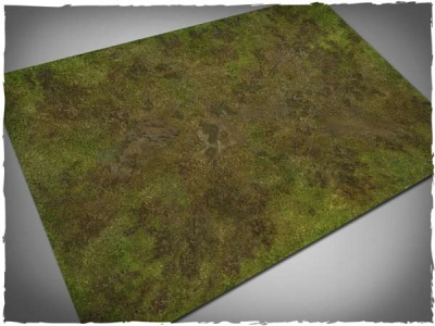 Game Mat - Muddy Field 6x4