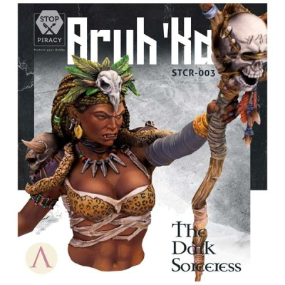 Aruk`ha - The dark Sorceress BUST
