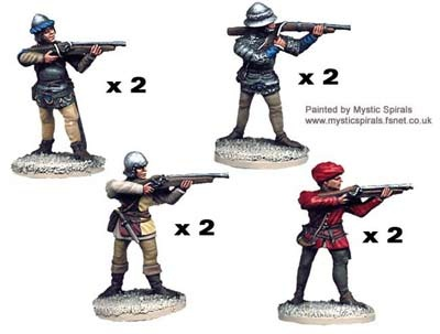 Wars of the Roses Handgunners (8)