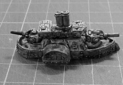 Ironclad Battleship 'Rakor's Hammer'