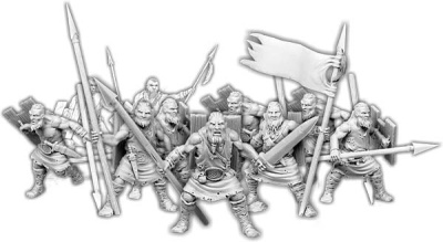 Spears of Dun Durn, Gairlom Commando Unit (10)