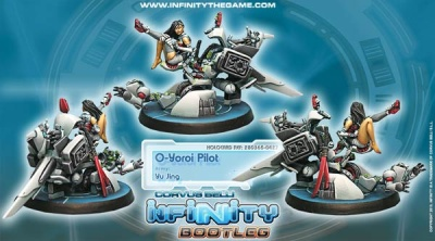 Infinity Bootleg! O-Yoroi Pilot (YJ)