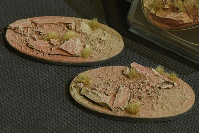 Badlands Bases - Oval 90mm (2)