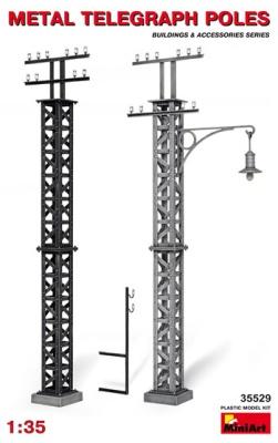 Metal Telegraph Poles