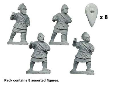 Peltasts in Quilted Armour (8 figs)