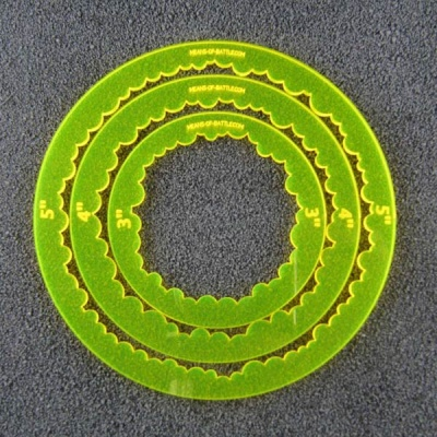 Ring Templates - gelb (3)