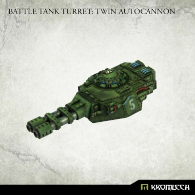 Battle Tank Turret : Twin Autocannon