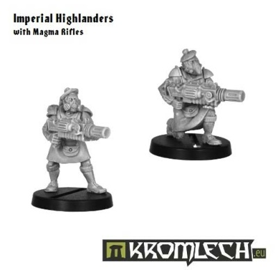 Imperial Highlanders with Magma Rifles (2)